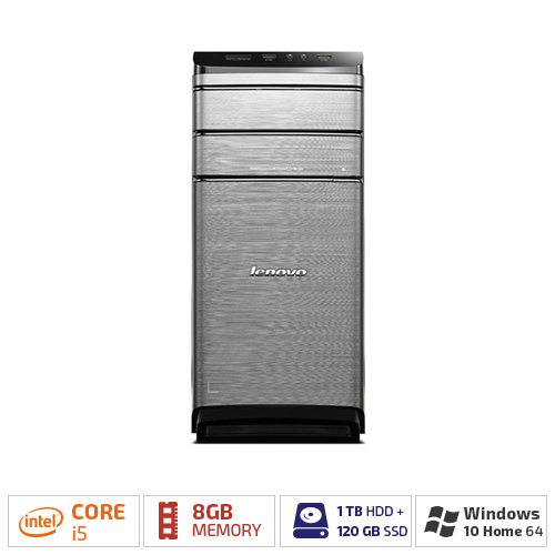 Lenovo IdeaCentre 700-25ISH Desktop PC w/ Intel i5, 8GB RAM, 1TB HDD,...